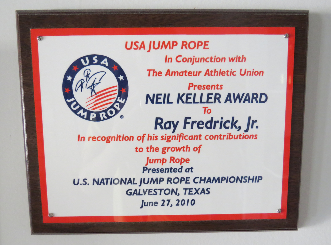 NEIL KELLER AWARD Ray Fredrick, Jr. 2010